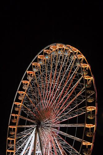 Iron Wheel at Global Village