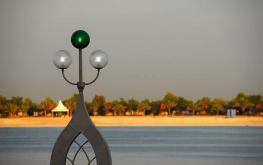 Abu Dhabi Corniche - Photo courtesy of CSI Pete